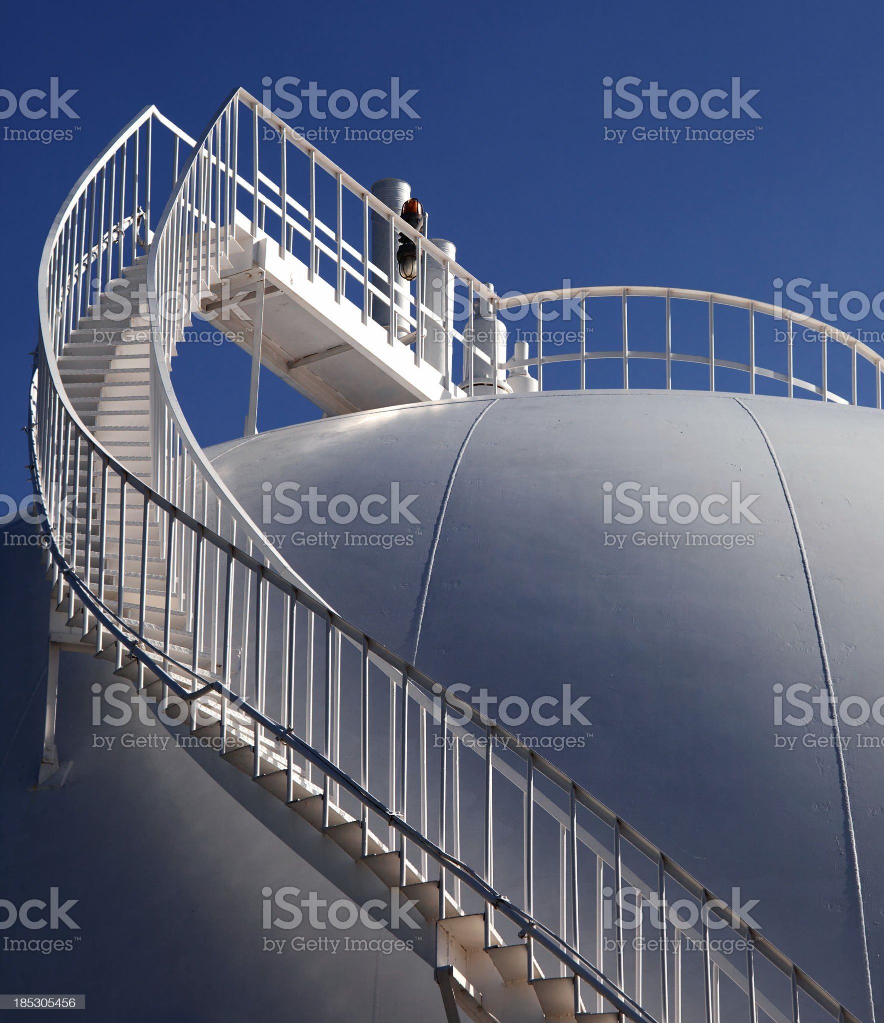 Petrochemical storage Tank royalty-free stock photo