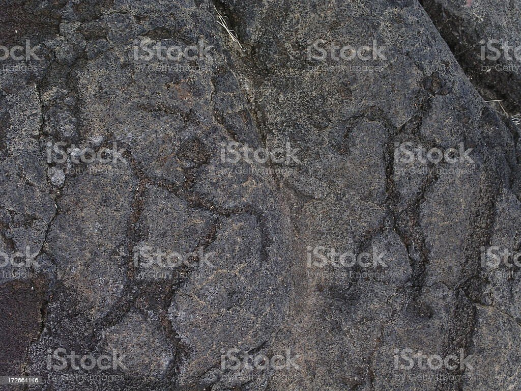 Petroglyph 6 royalty-free stock photo