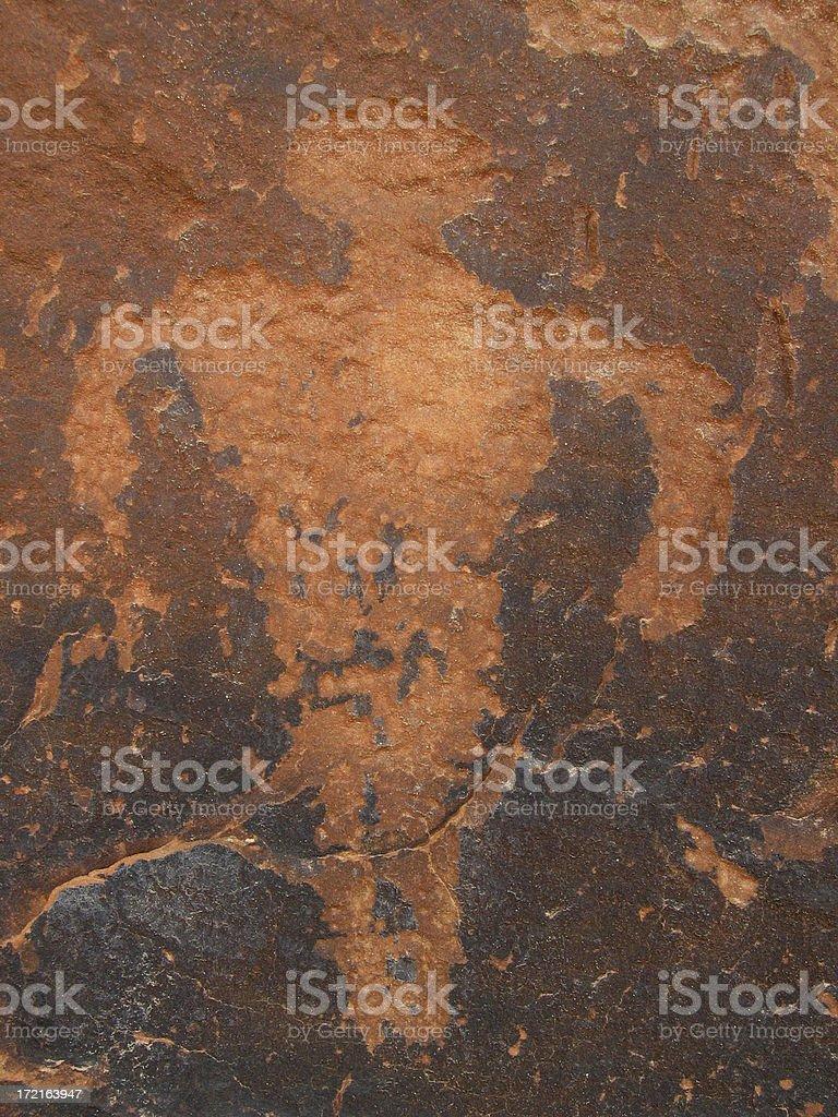 Petroglyph Human stock photo