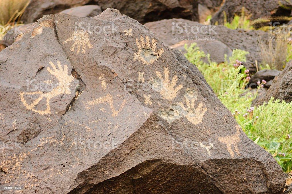 Petroglyph National Monument stock photo