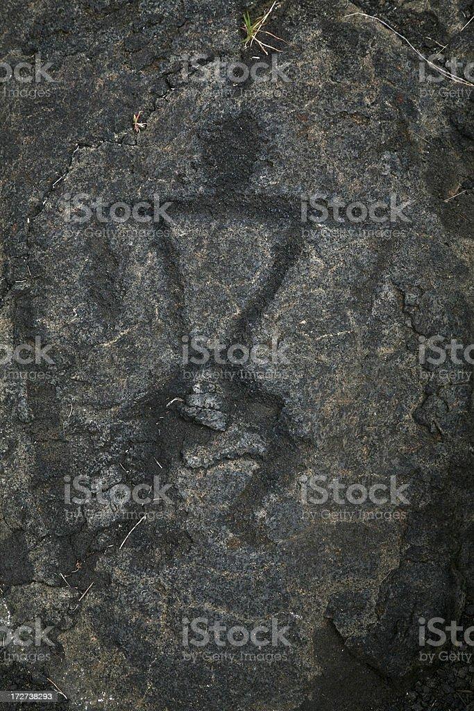 Petroglyph stock photo