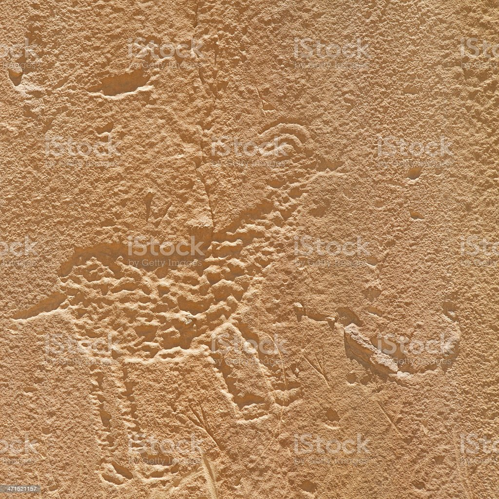 Petroglyphs - Chaco Culture National Historical Park stock photo