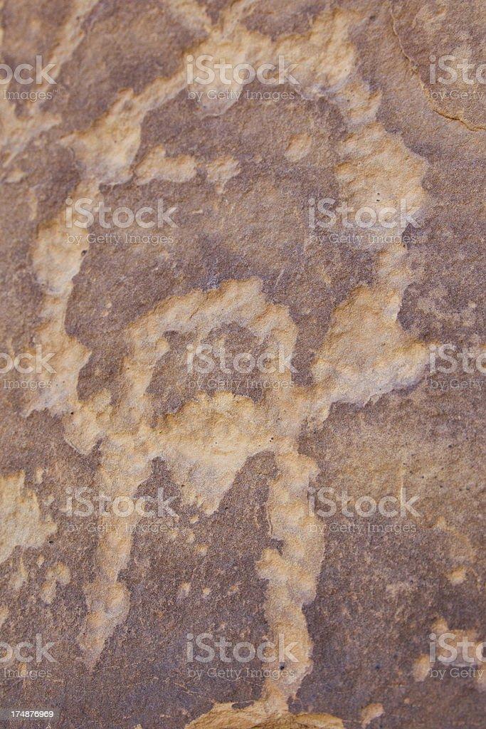 Petroglyphs on display at Mesa Verde National Park stock photo