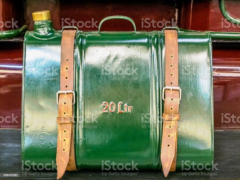 Petrol canister stock photo