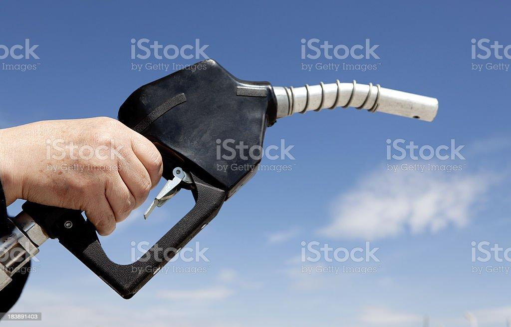 Petrol crisis stock photo