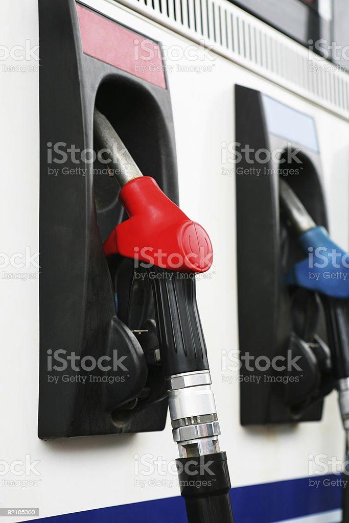 petrol filling station royalty-free stock photo
