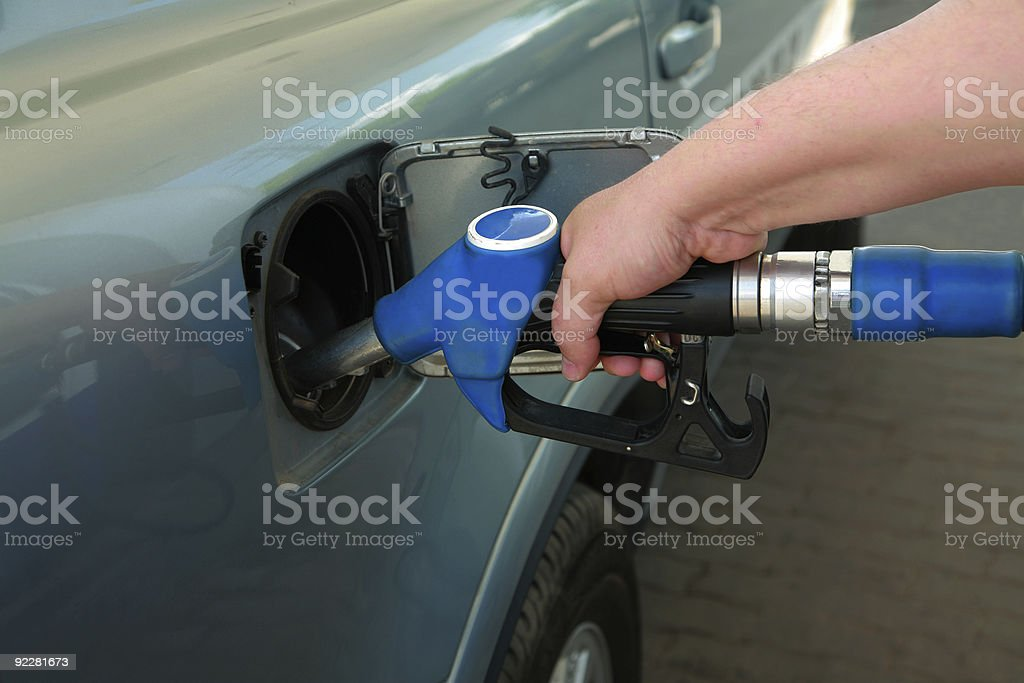 petrol filling station royalty-free stock photo
