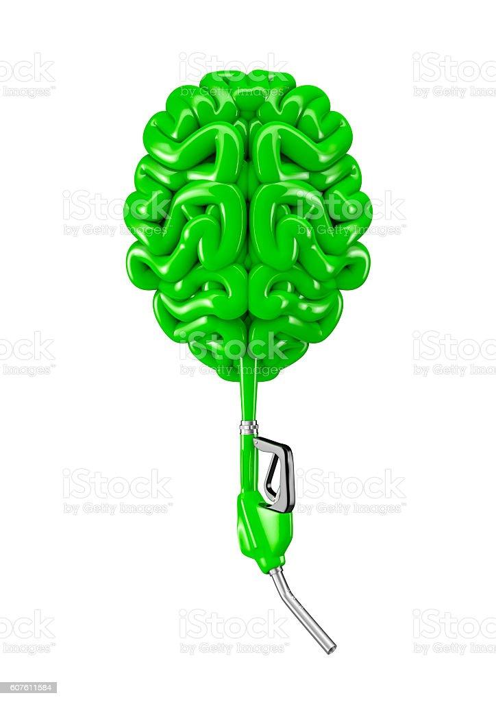 Petrol hose brain stock photo