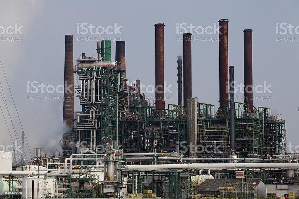 Petrol Raffinery royalty-free stock photo