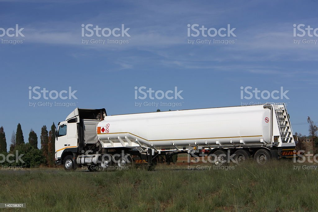 Petrol Tanker stock photo