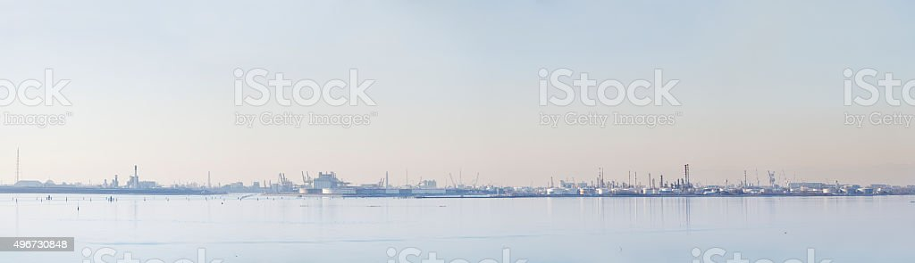 Petrolchemical industry stock photo