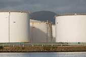 Petroleum fuel storage tanks