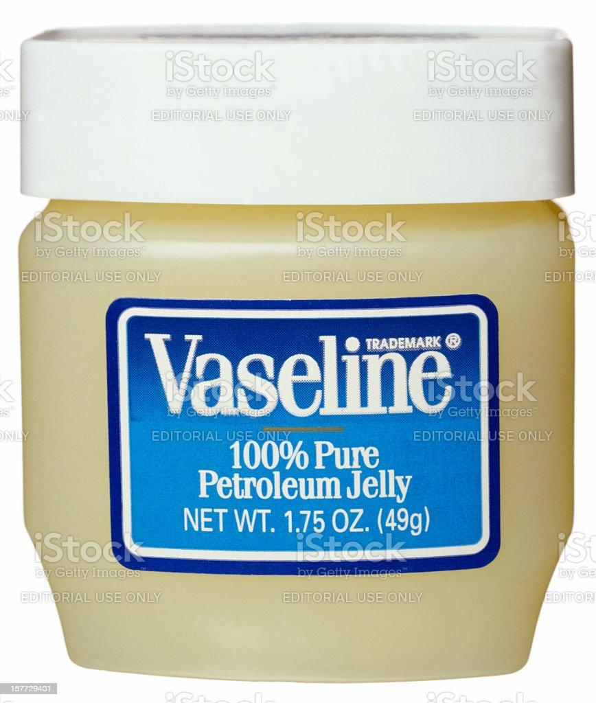 Petroleum Jelly stock photo