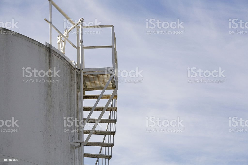 Petroleum stack royalty-free stock photo