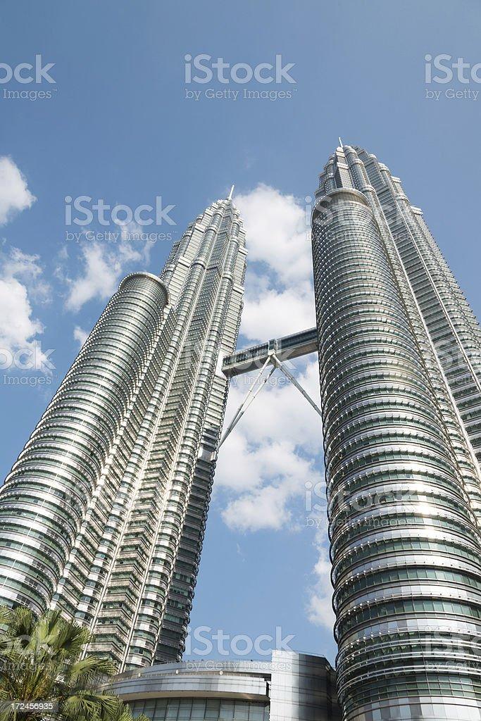 petronas towers royalty-free stock photo