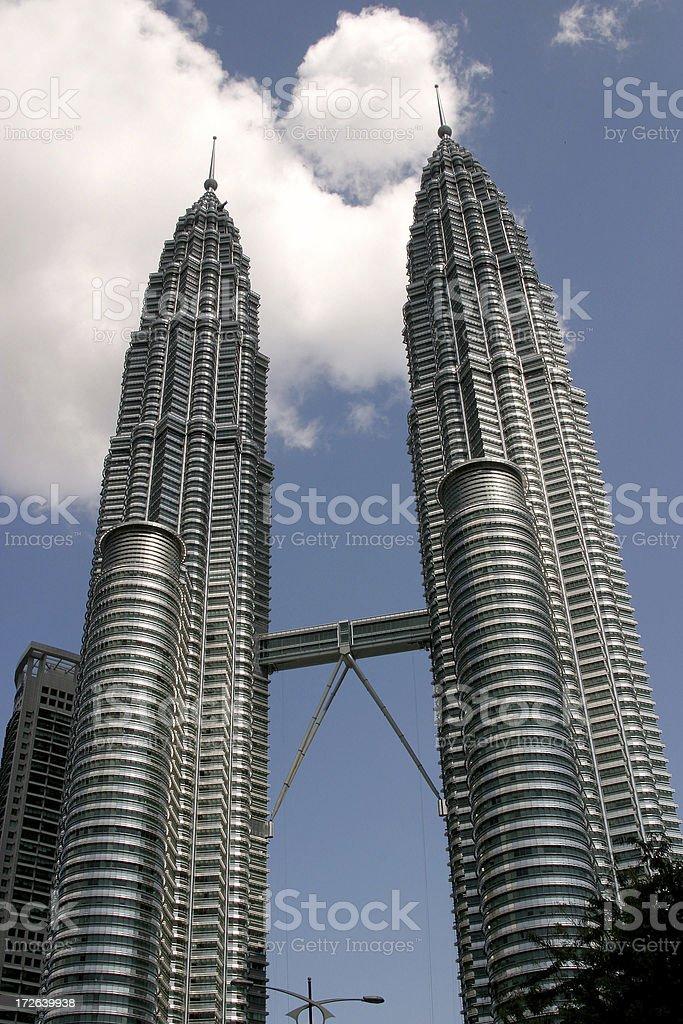 Petronas Twin Tower royalty-free stock photo