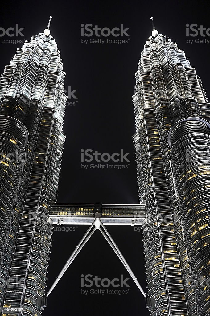 Petronas Twin Towers royalty-free stock photo