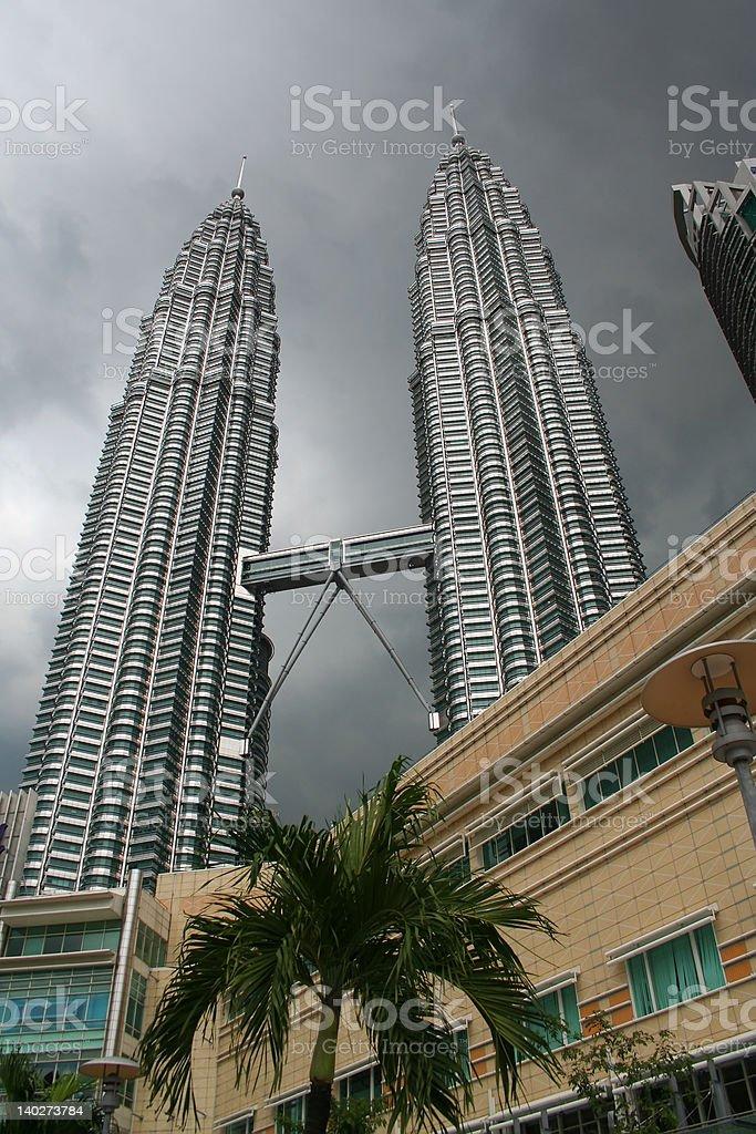 Petronas Twin Towers royalty-free stock photo