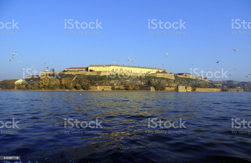 Petrovaradin fortress, Novi Sad stock photo