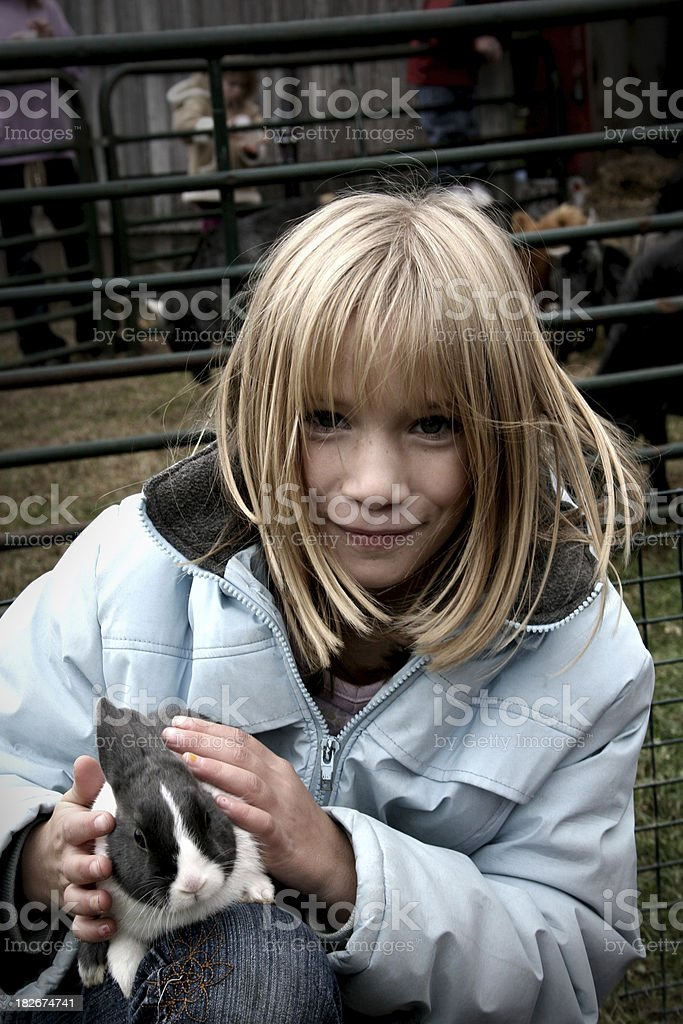 Petting Zoo royalty-free stock photo