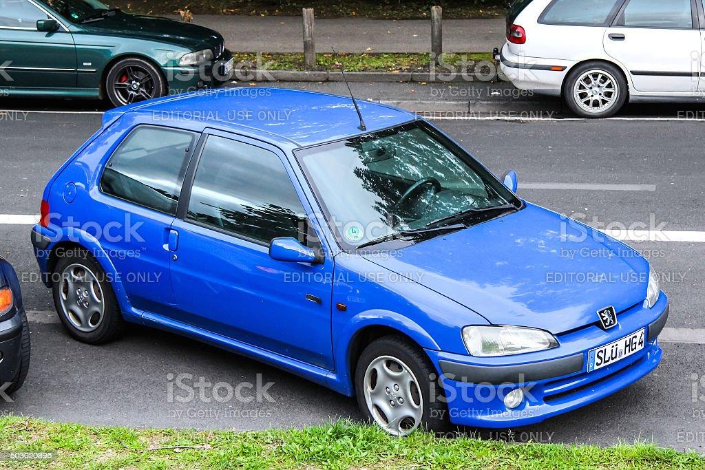Peugeot 106 stock photo