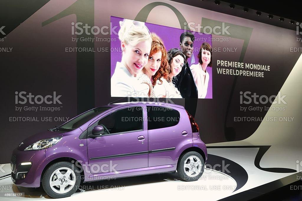 Peugeot 107 stock photo