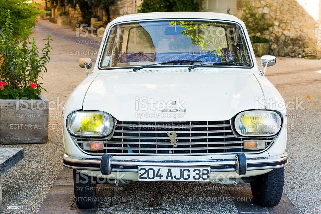 Peugeot 204 stock photo