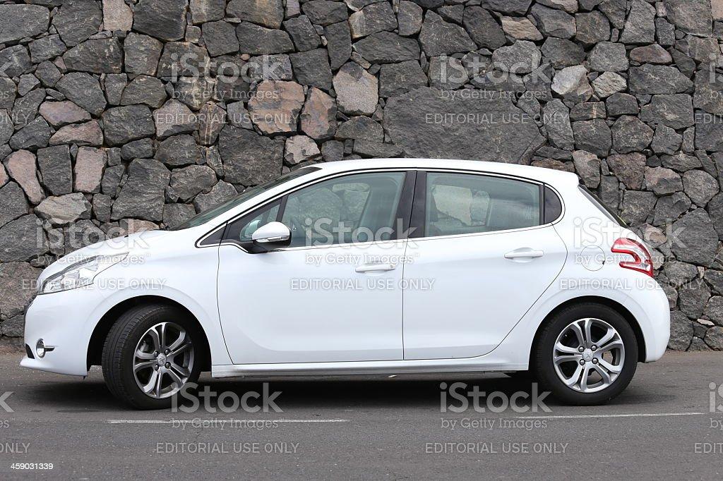 Peugeot 208 royalty-free stock photo