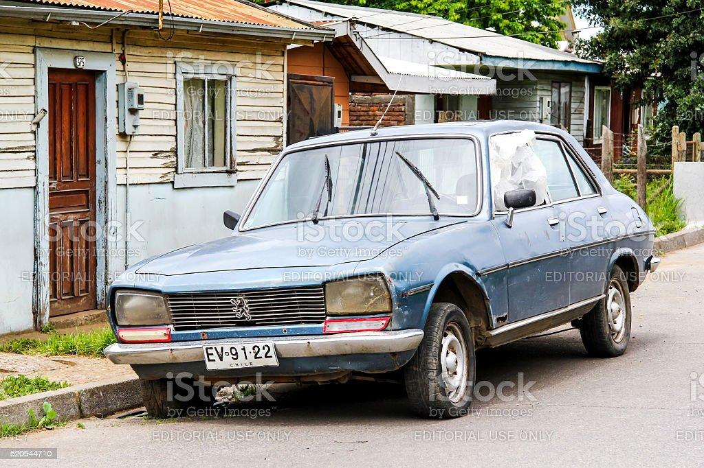 Peugeot 504 stock photo