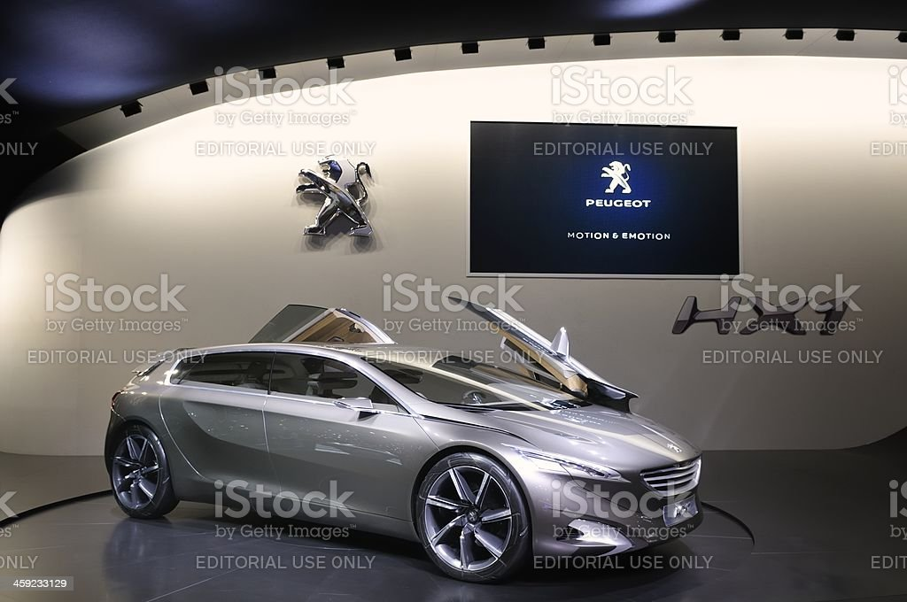 Peugeot HX1 Concept royalty-free stock photo