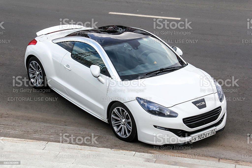 Peugeot RCZ stock photo