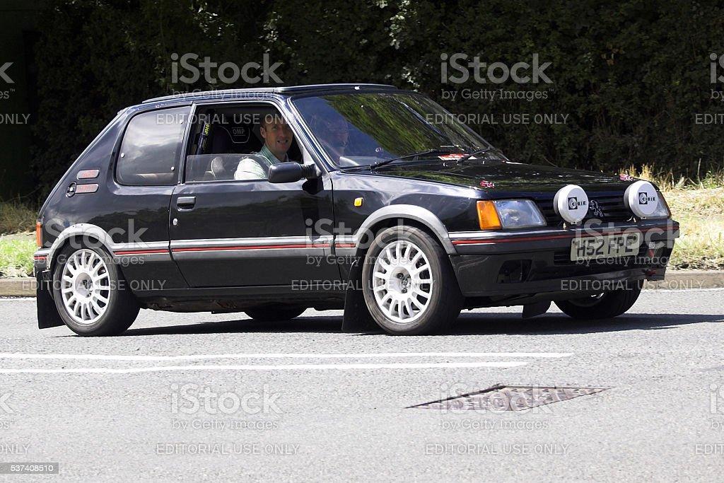 Peugot 205 GTI car stock photo