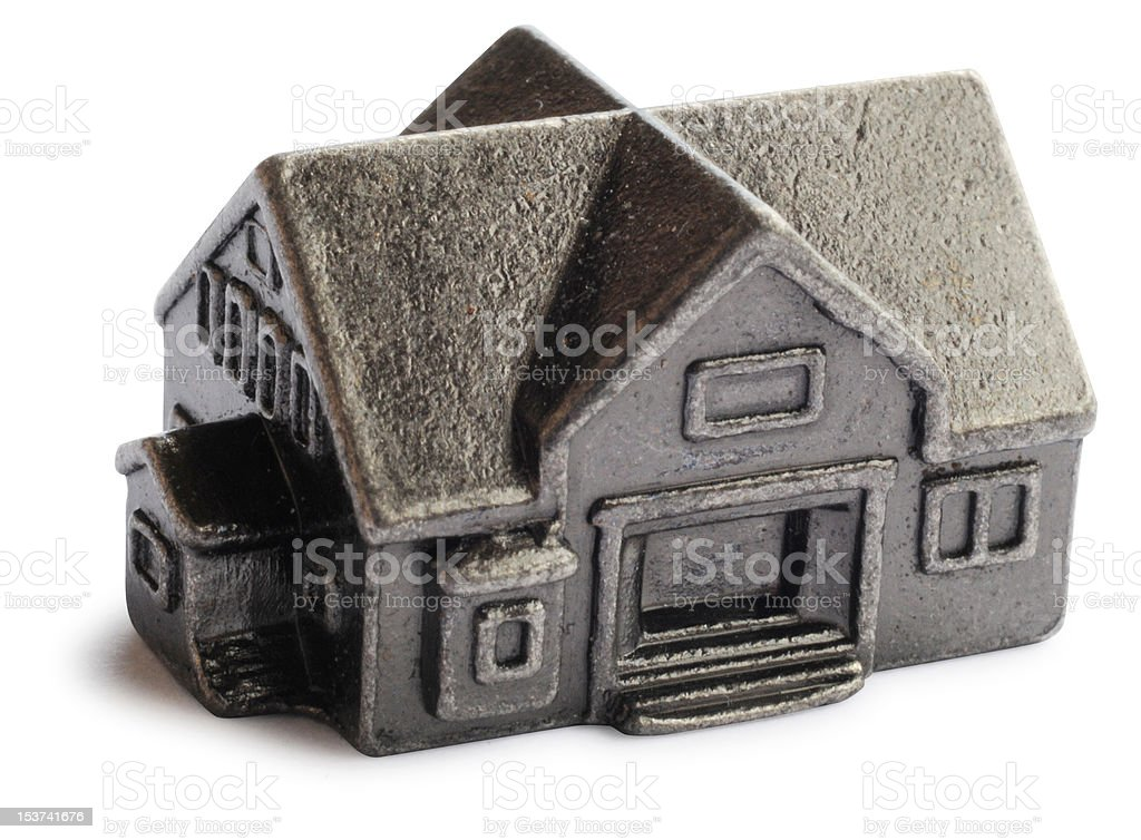 Pewter House royalty-free stock photo