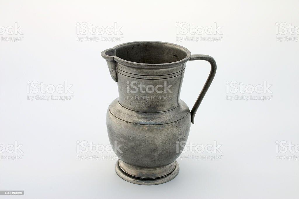 Pewter jug royalty-free stock photo
