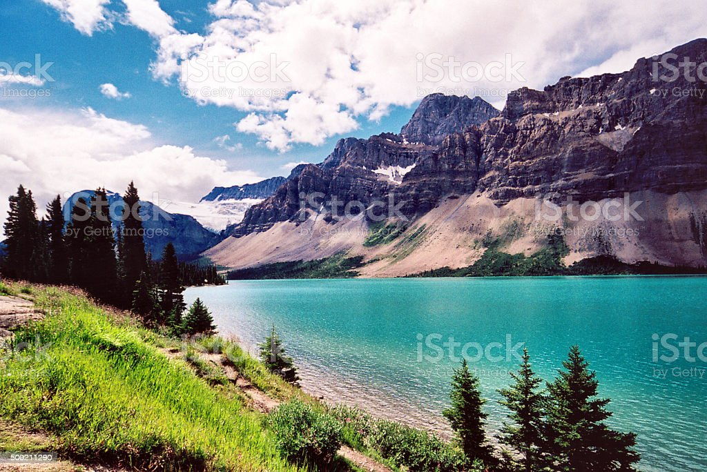 Peyto Lake, Alberta - Banff NP stock photo