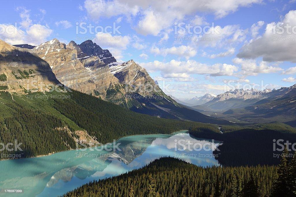 Peyto Lake royalty-free stock photo