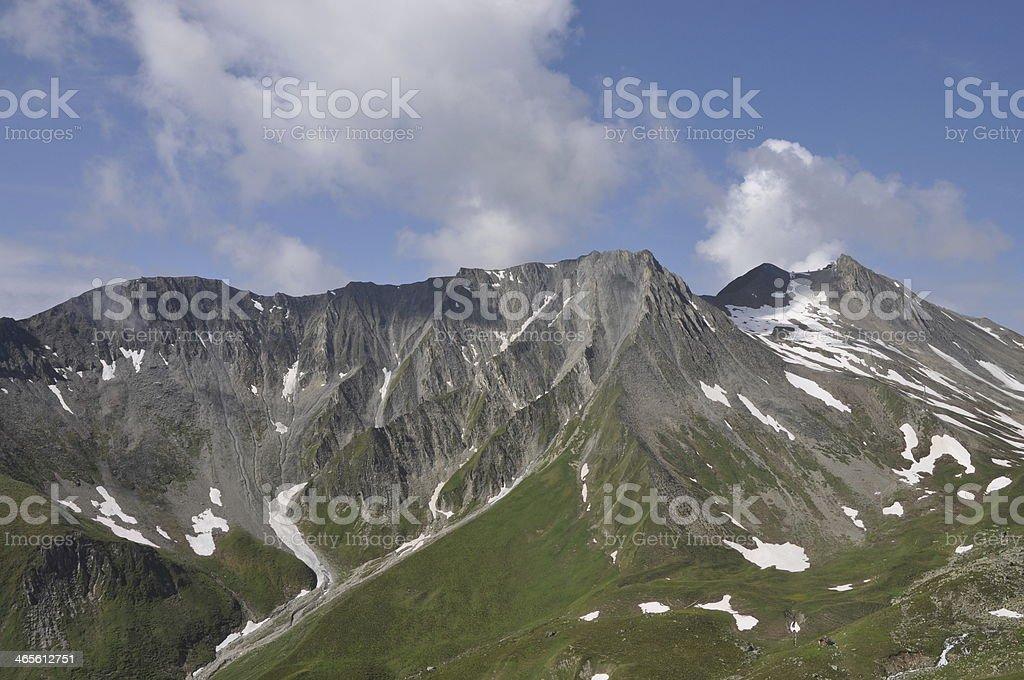 Pezid, a mountain in Austria stock photo