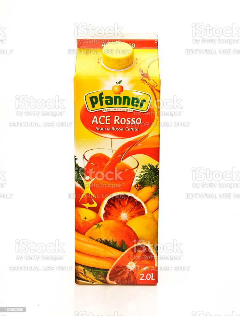 Pfanner Fruit Juice stock photo
