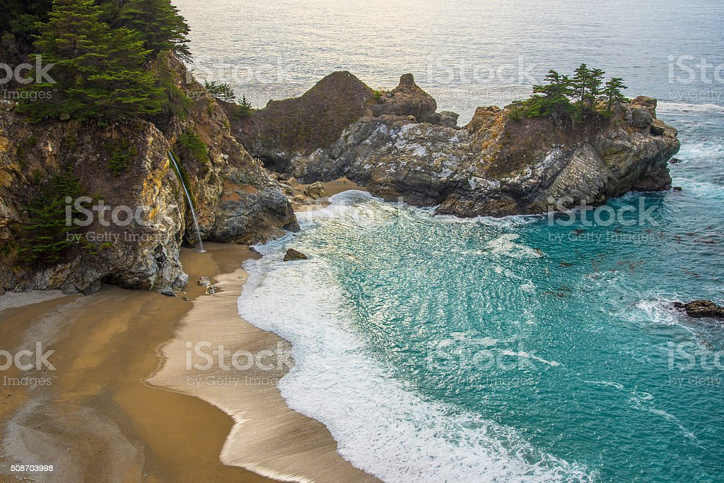 Pfeiffer Big Sur State Park Beach stock photo