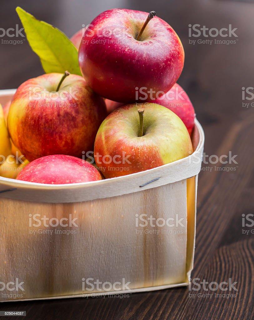 Äpfel rustikal stock photo