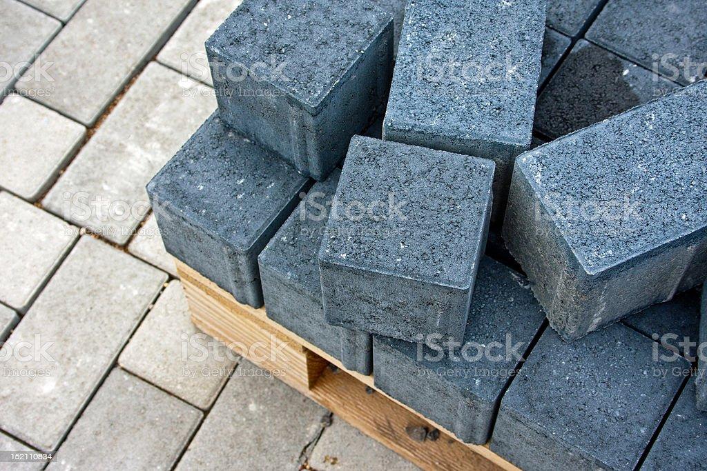 Pflastersteine stock photo