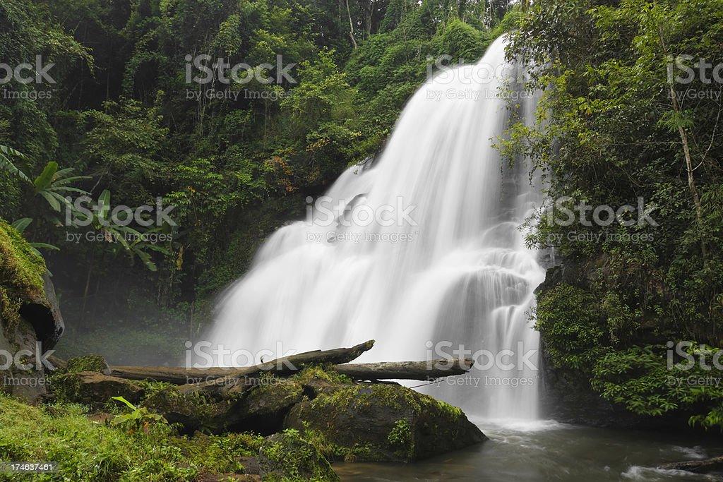 Pha Dok Sieo Falls stock photo