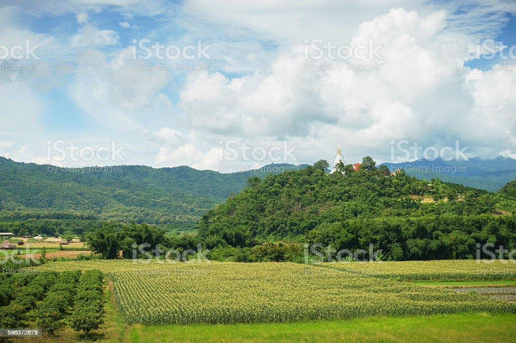 Pha Thart Sang Roong (Sang Roong temple) stock photo