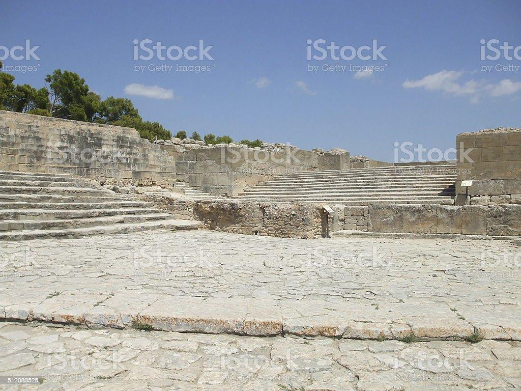 Phaistos stock photo