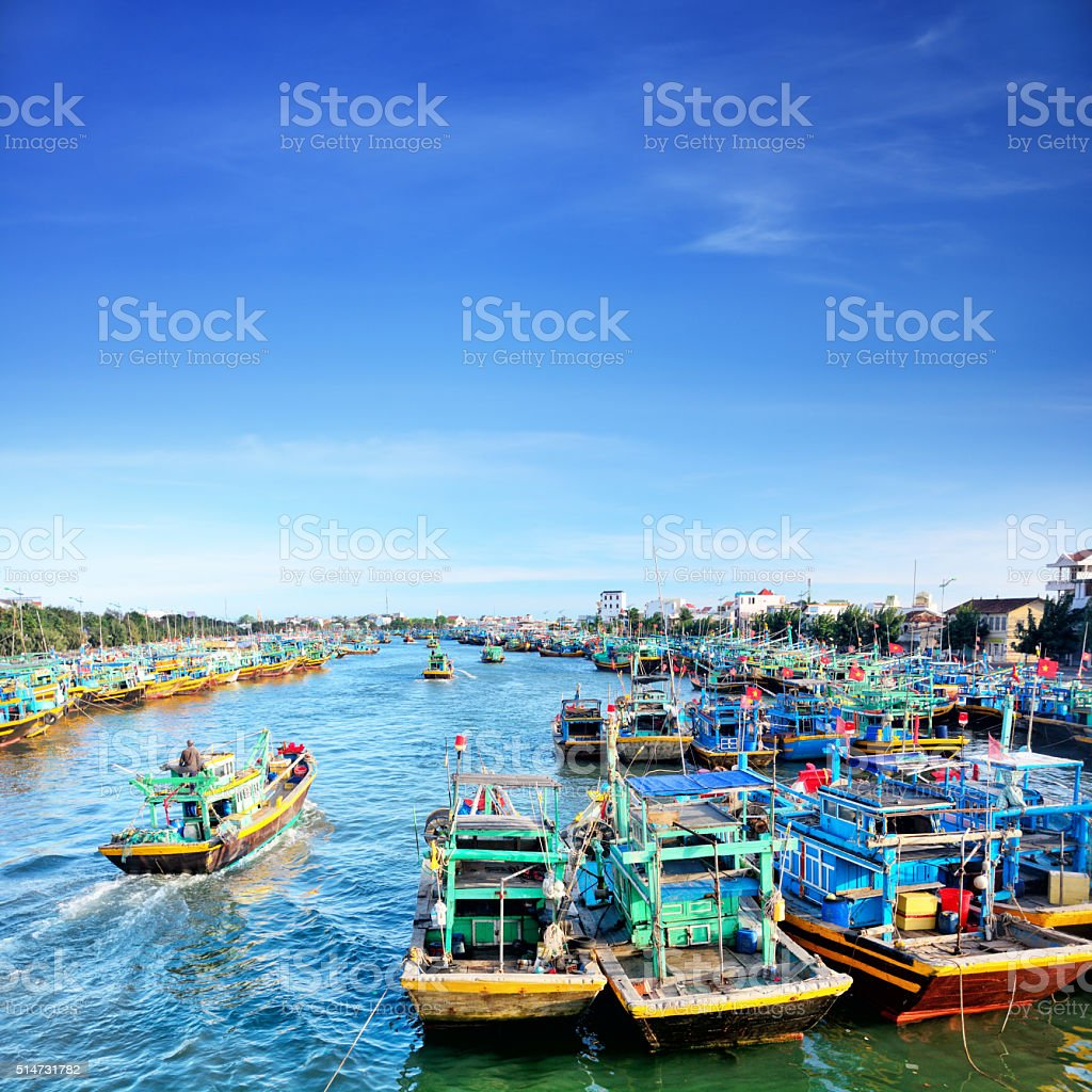 Phan Thiet, Vietnam stock photo