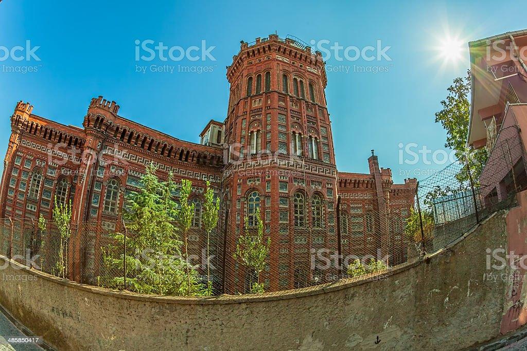 Phanar Greek Orthodox College stock photo