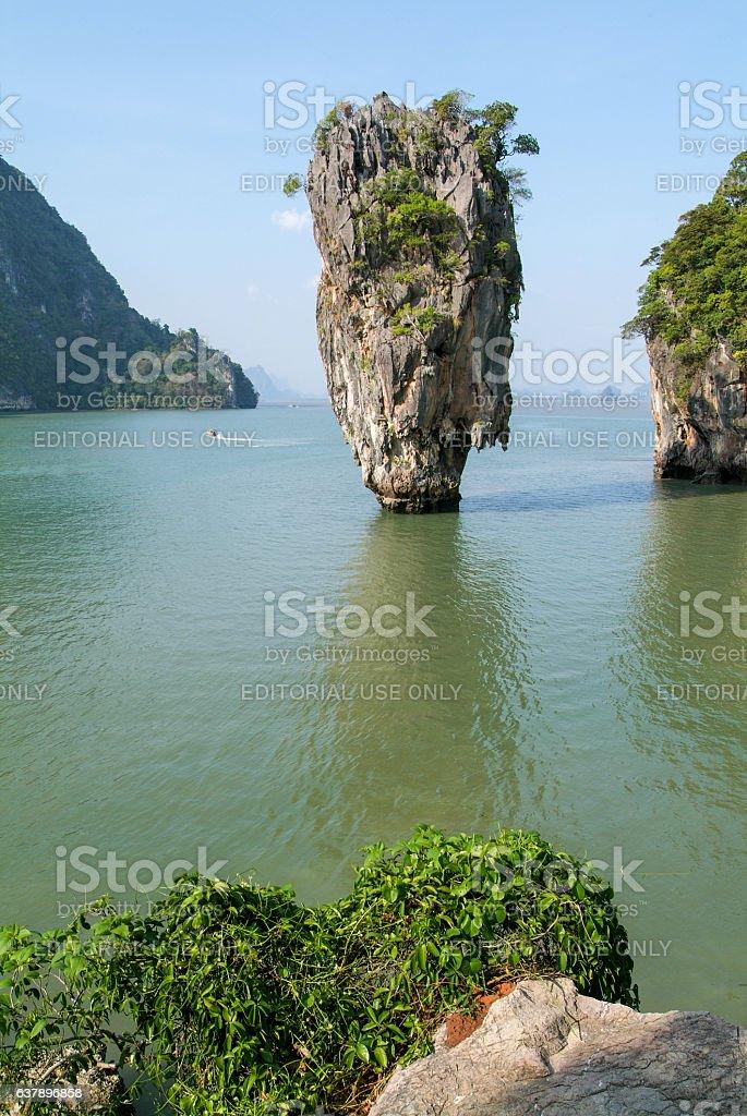 Phang Nga Bay, James Bond Island stock photo