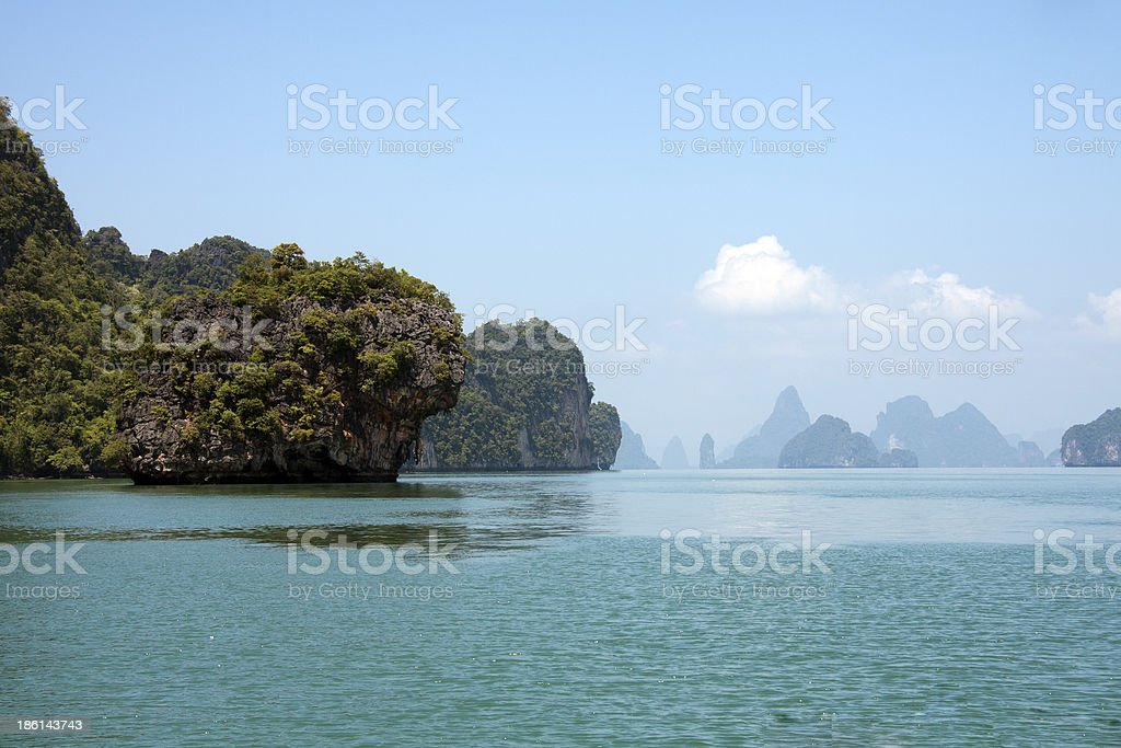 Phang Nga Bay Thailand royalty-free stock photo