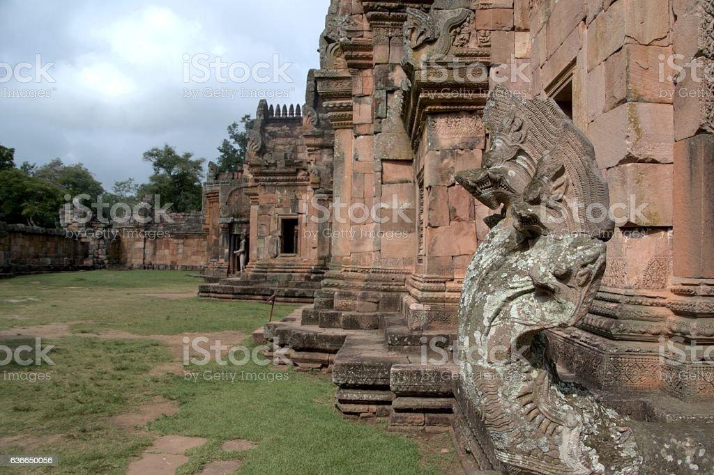 Phanom Rung temple, Buriram province, Isan, Thailand stock photo