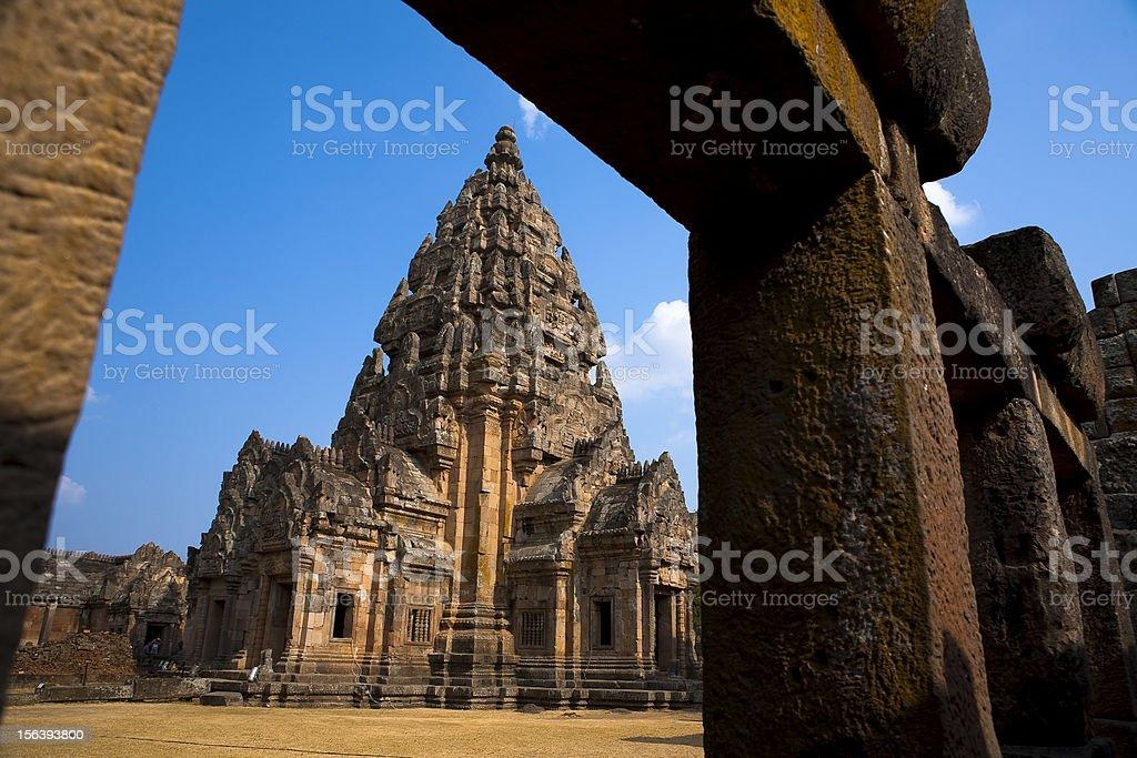 phanomrung the rock castel of thailand royalty-free stock photo